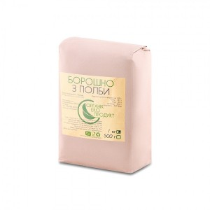Spelled flour natural Organic Eco-Product, 1 kg