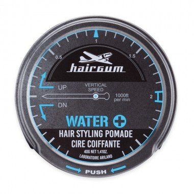 HAIRGUM WATER + HAIR STYLING POMADE, 40 g