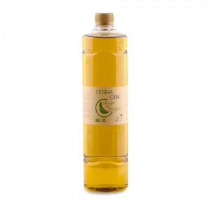 Linseed oil cold pressed Organic Eco-Product, 1000 ml