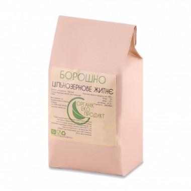 Rye flour (whole grain) natural Organic Eco-Product, 2 kg