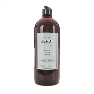Depot Hair Cleansings 104 Silver Shampoo, 1000 ml