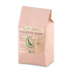 Wholegrain wheat flour natural Organic Eco-Product, 5 kg