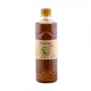 Mustard oil cold pressed Organic Eco-Product, 500 ml