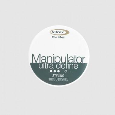 Воск манипулятор волокнистый сильной фиксации для мужчин Vifrex for men MANIPULATOR WAX, 100 мл
