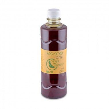Pumpkin seed oil cold pressed Organic Eco-Product, 1000 ml