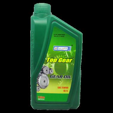 Трансмиссионное масло ATLANTIC TOP GEAR OIL 75W-90 GL-5, 1 л