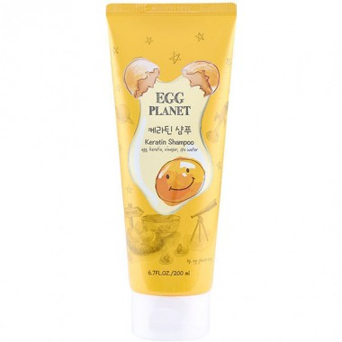 Шампунь з кератином для пошкодженого волосся Daeng Gi Meo Ri Egg Planet Keratin Shampoo, 200 мл