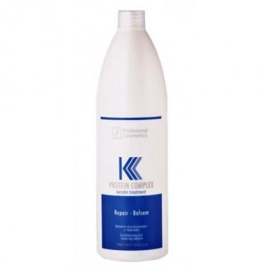 Protein Complex Keratin Treatment Repair Balsam Professional Cosmetics, 1000 ml