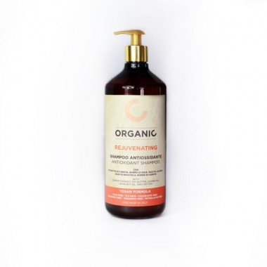 Органический шампунь тонизирующий для всех типов волос Punti di Vista Organic Antioxidant Shampoo Vegan Formula, 1000 мл