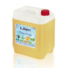 "Рідке крем-мило для рук Lilien ""Мед і прополіс"", 5 л"