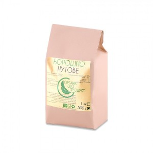 Natural chickpea flour Organic Eco-Product, 500 g