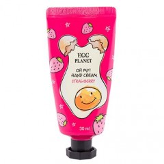 Крем для рук Полуниця DAENG GI MEO RI Egg Planet Hand Cream Strawberry, 30 мл