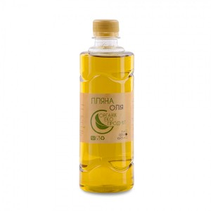 Linseed oil cold pressed Organic Eco-Product, 500 ml