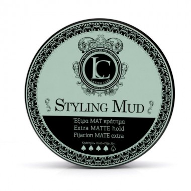 Глина для стайлинга волос сильной матовой фиксации  Lavish Care Styling Mud Extra matte hold, 100 мл