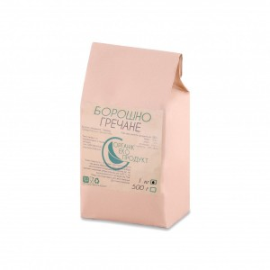 Buckwheat flour natural Organic Eco-Product, 1 kg
