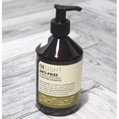 Зволожуючий шампунь для волосся Insight (Італія) Anti-Frizz, 400 мл