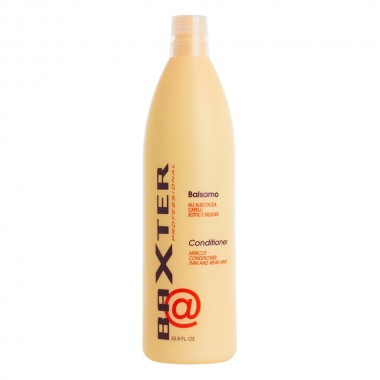 Fortifying conditioner for fine hair with extracts of apricot Punti di Vista Baxter Apricot Conditioner, 1000 ml