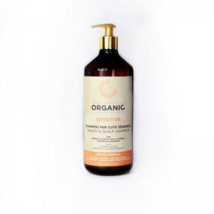 Органический шампунь для чувствительной кожи головы Punti di Vista Organic Sensitive Scalp Shampoo Vegan Formula,  1000 мл