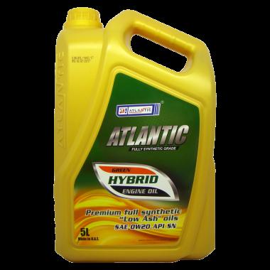 Моторне масло ATLANTIC GREEN-HYBRID 0W-20, 5 л