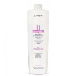 Шампунь для відновлення пошкодженого, фарбованого волосся Team 155 Extraforce 11 Shampoo Treated And Colored Hair, 1000 мл (8031246009306)