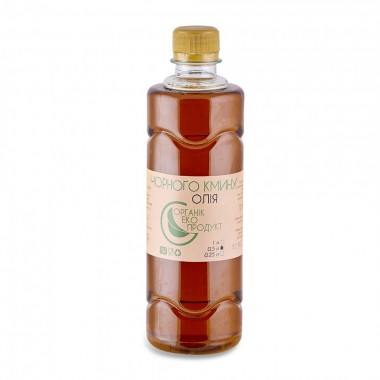 Масло черного тмина холодного отжима Organic Eco-Product, 500 мл