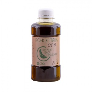 Hemp oil cold pressed Organic Eco-Product, 250 ml