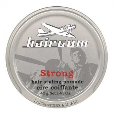 HAIRGUM STRONG HAIR STYLING POMADE, 40 g