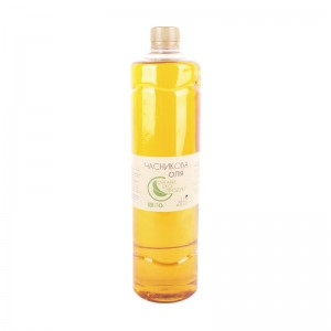 Cold pressed garlic oil Organic Eco-Product, 1000 ml