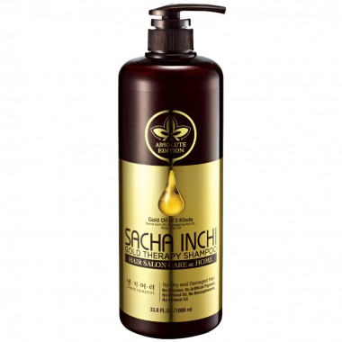 "Шампунь інтенсивний догляд ""Золота терапія"" DAENG GI MEO RI Sacha Inchi Gold Therapy Shampoo, 1000 мл"