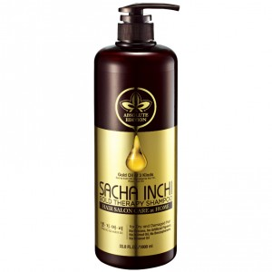 "Шампунь интенсивный уход ""Золотая терапия"" DAENG GI MEO RI Sacha Inchi Gold Therapy Shampoo, 1000 мл"