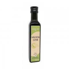 Pumpkin seed oil cold pressed Organic Eco-Product (glass), 250 ml