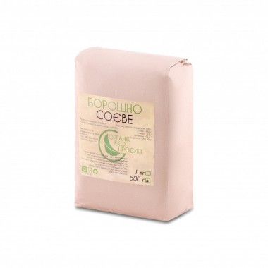 Соєва мука натуральна Organic Eco-Product, 500 г