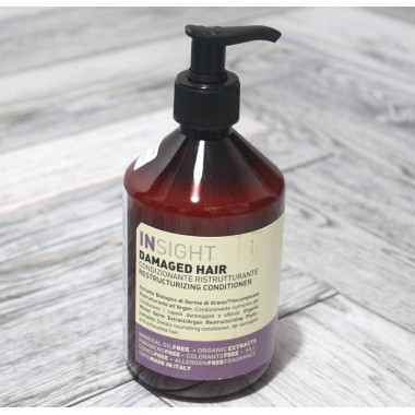 Восстанавливающий кондиционер Insight (Италия) Damaged Hair Conditioner, 400 мл