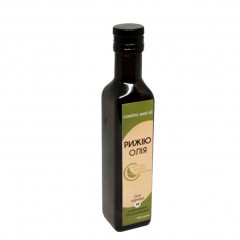 Camelina oil cold pressed Organic Eco-Product (glass), 250 ml