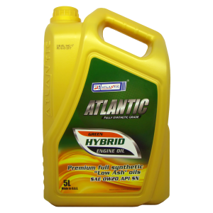 Моторне масло Atlantic Green-Hybrid 0W-20, 5 л