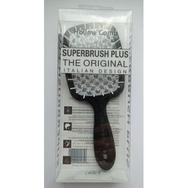 Гребінець для волосся Hollow Comb Superbrush Plus (чорна хмара)