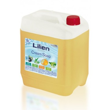 "Lilien ""Honey and Propolis"" Liquid Hand Cream-Soap, 5 l"