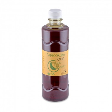 Pumpkin seed oil cold pressed Organic Eco-Product, 500 ml