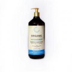 Органічний шампунь очищає, проти лупи Punti di Vista Organic Purifying Shampoo Vegan Formula, 1000 мл