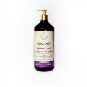 Органічний шампунь для відновлення пошкодженого волосся Punti di Vista Organic Restructuring Shampoo Vegan Formula, 1000 мл