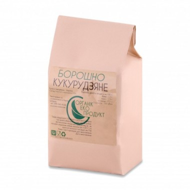 Corn flour Organic Eco-Product, 5 kg