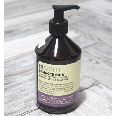Damaged Hair Shampoo Insight (Italy), 400 ml
