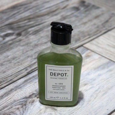 Shaving gel Depot 406, 100 ml