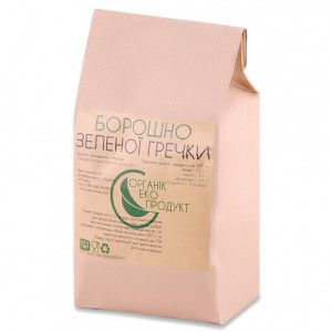 Flour from green buckwheat organic Organic Eco-Product, 1 kg