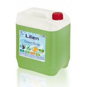 Lilien Aloe Vera Liquid Hand Cream-Soap, 5 l
