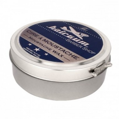 Віск для вусів (Професійна упаковка) HAIRGUM Barber Moustache Wax, 400 г