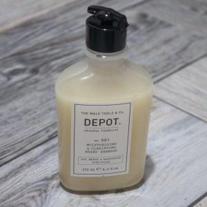 Moisturizing & Clarifying Beard Shampoo Depot 501, 250 ml