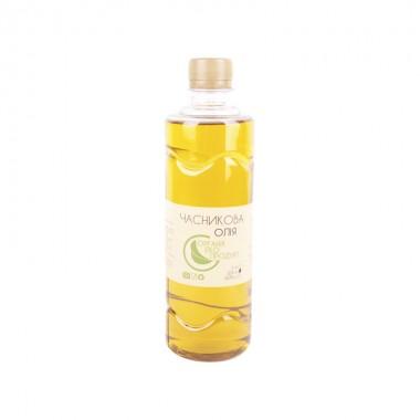 Cold pressed garlic oil Organic Eco-Product, 500 ml