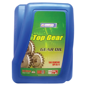 Atlantic Top Gear Oil 85W-140 GL-5, 20 л