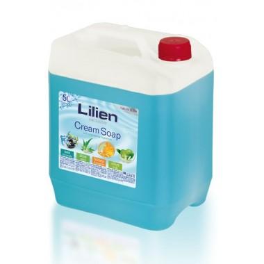 """Жидкое крем-мыло для рук Lilien """"Морские минералы"""", 5 л"""